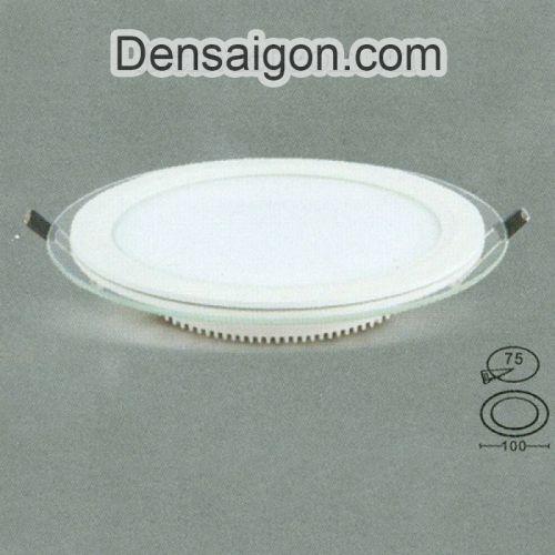 Đèn Mâm Áp Trần Hành Lang IC Đổi 3 Màu Thiết Kế Gọn - Densaigon.com