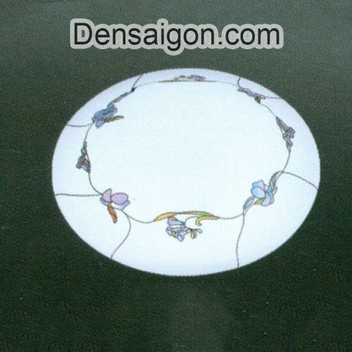 Đèn Mâm Áp Trần Hành Lang Màu Trắng Thiết Kế Đẹp - Densaigon.com