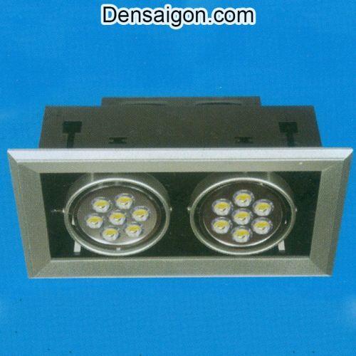 Đèn Mắt Ếch LED Đôi Màu Đen - Densaigon.com