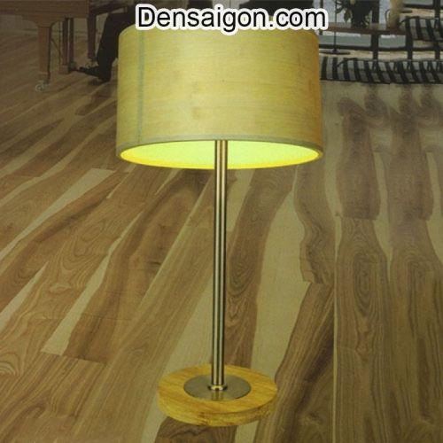Đèn Ngủ Để Bàn Gỗ Thiết Kế Gọn - Densaigon.com