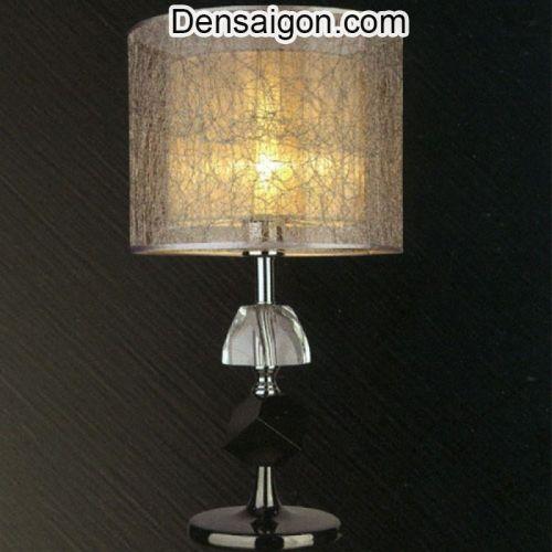 Đèn Ngủ Để Bàn Gỗ Thiết Kế Nhẹ Nhàng - Densaigon.com