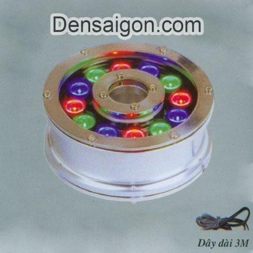 Đèn Pha LED Dưới Nước 12W Biến Đổi 3 Màu - Densaigon.com