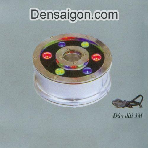 Đèn Pha LED Dưới Nước 6W Biến Đổi 3 Màu - Densaigon.com
