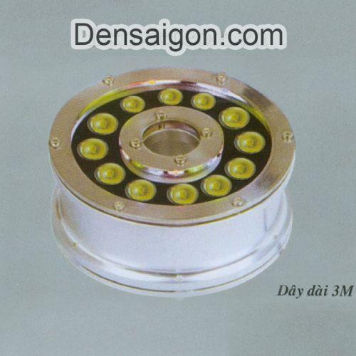 Đèn Pha LED Dưới Nước12W Màu Vàng - Densaigon.com