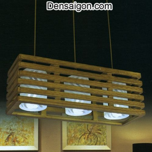 Đèn Thả Gỗ Kiểu Dáng Đẹp - Densaigon.com