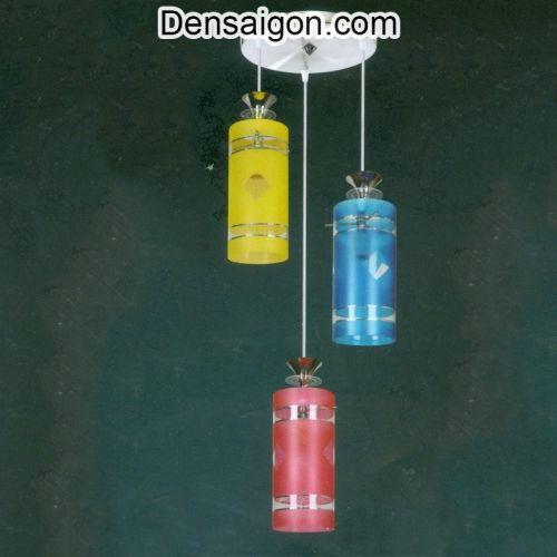 Đèn Thả Pha Lê 3 Màu Nổi Bật - Densaigon.com