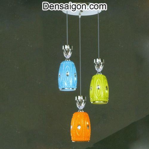 Đèn Thả Pha Lê 3 Màu Phong Cách - Densaigon.com