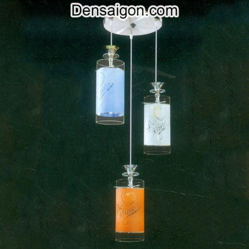 Đèn Thả Pha Lê 3 Màu Trang Nhã - Densaigon.com