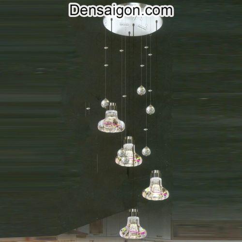 Đèn Thả Pha Lê Đẹp Treo Phòng Ăn - Densaigon.com