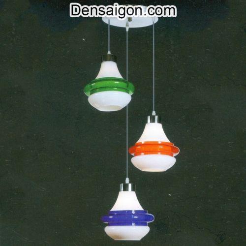 Đèn Thả Pha Lê Hiện Đại 3 Màu Đẹp - Densaigon.com