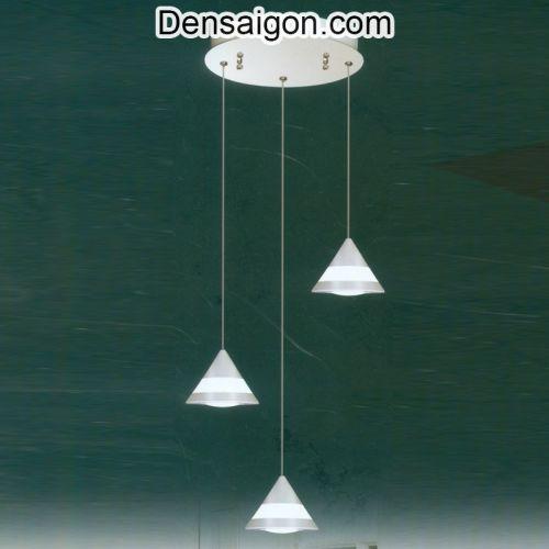 Đèn Thả Pha Lê Hiện Đại Hình Nón - Densaigon.com