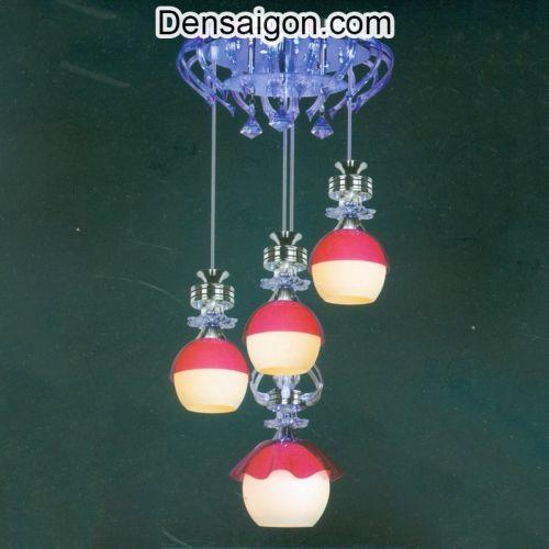 Đèn Thả Pha Lê Hiện Đại Lung Linh - Densaigon.com