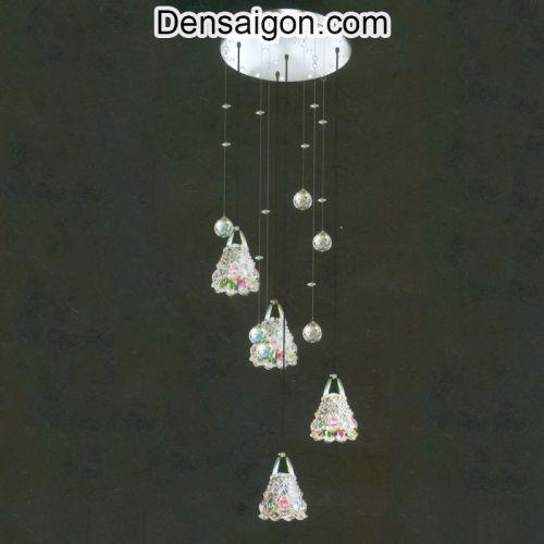 Đèn Thả Pha Lê Thiết Kế Tinh Tế - Densaigon.com