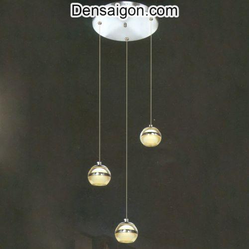 Đèn Thả Pha Lê Thông Tầng Đơn Giản - Densaigon.com