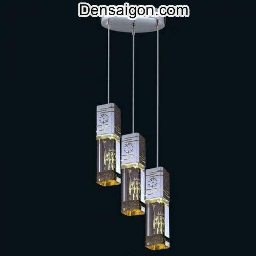 Đèn Thả Thủy Tinh Cao Cấp Phong Cách Ấn Tượng - Densaigon.com