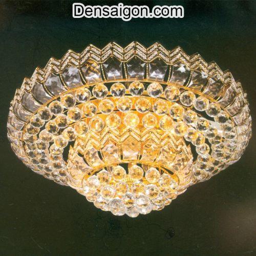 Đèn Trần Pha Lê Đẹp Treo Phòng Khách - Densaigon.com