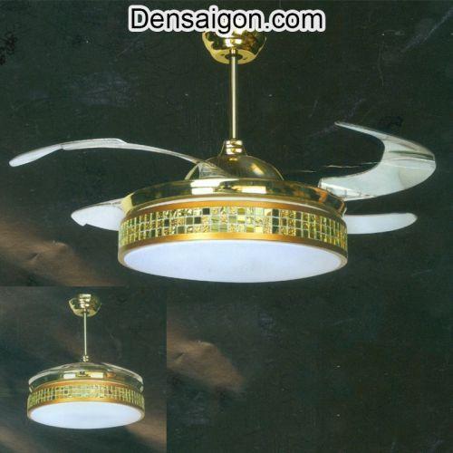 Đèn Trần Quạt Thiết Kế Sang Trọng - Densaigon.com