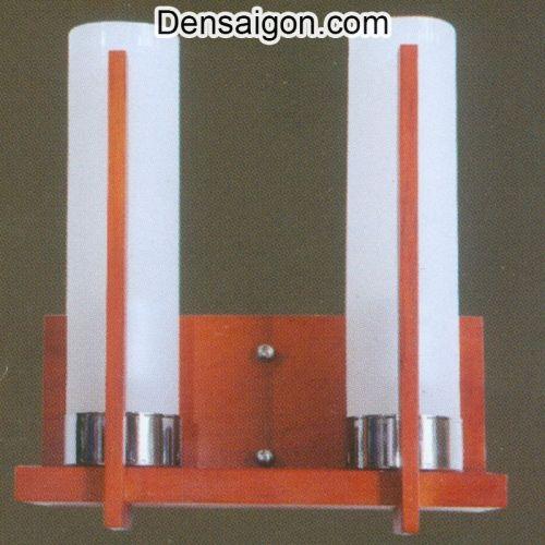 Đèn Tường Gỗ 2 Tay Thiết Kế Sang Trọng - Densaigon.com