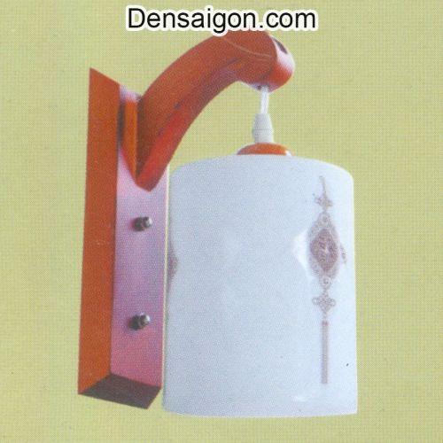 Đèn Tường Gỗ Phong Cách Đơn Giản - Densaigon.com