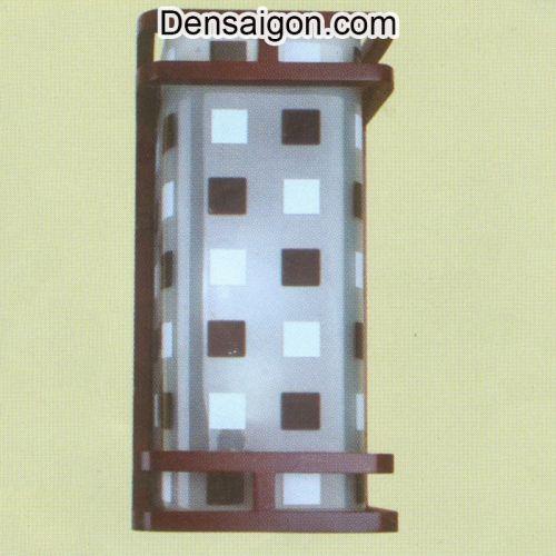 Đèn Tường Gỗ Trắng Đen Đẹp - Densaigon.com