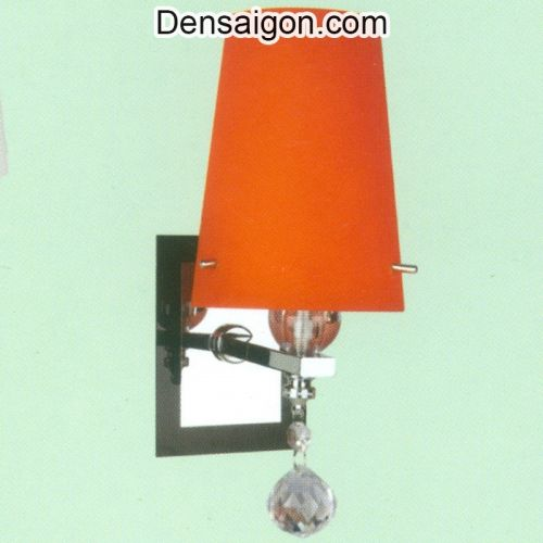 Đèn Tường Inox Dù Màu Cam Đẹp - Densaigon.com
