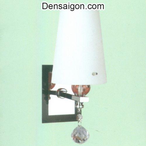 Đèn Tường Inox Dù Màu Trắng Đẹp - Densaigon.com