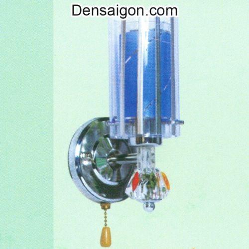 Đèn Tường Inox Hiện Đại Màu Lam - Densaigon.com