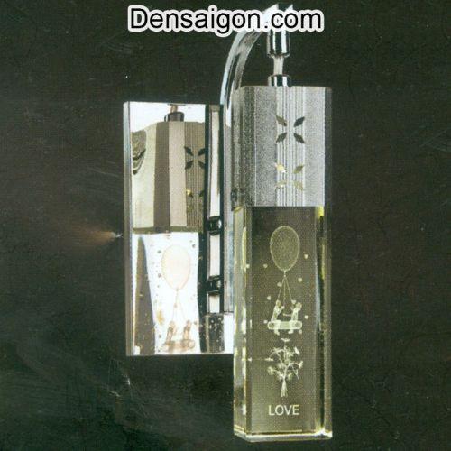 Đèn Tường Inox Họa Tiết Chữ LOVE - Densaigon.com