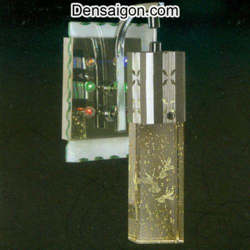 Đèn Tường Inox Họa Tiết Con Cá - Densaigon.com