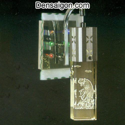 Đèn Tường Inox Họa Tiết Con Hổ - Densaigon.com