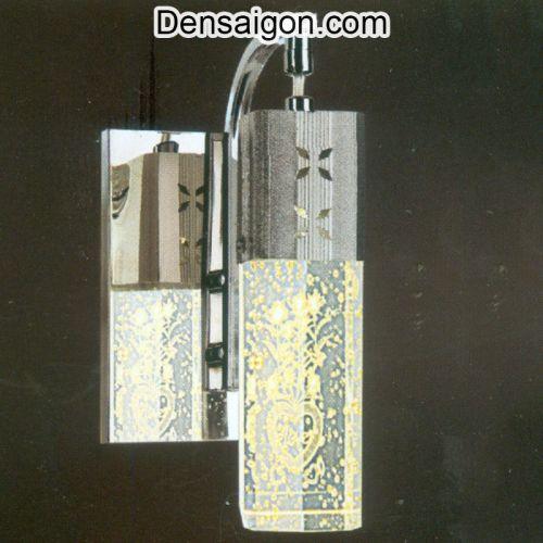 Đèn Tường Inox Hoa Văn Trái Tim - Densaigon.com