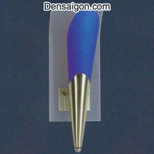 Đèn Tường Inox Màu Xanh Hiện Đại - Densaigon.com