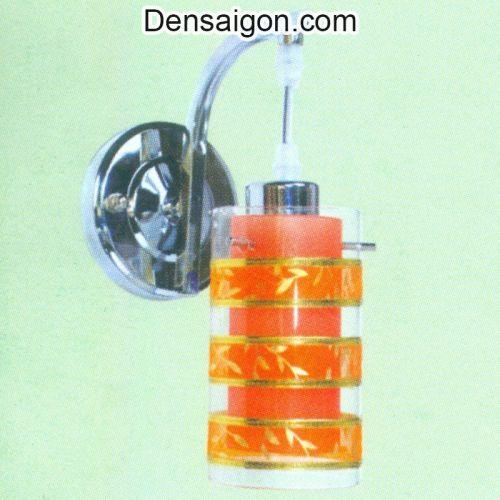 Đèn Tường Inox Sọc Cam Trẻ Trung - Densaigon.com