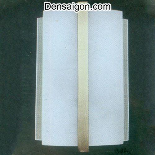 Đèn Tường Kiếng Đơn Giản Màu Trắng - Densaigon.com