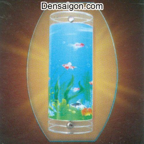 Đèn Tường Kiếng Họa Tiết Hồ Cá - Densaigon.com