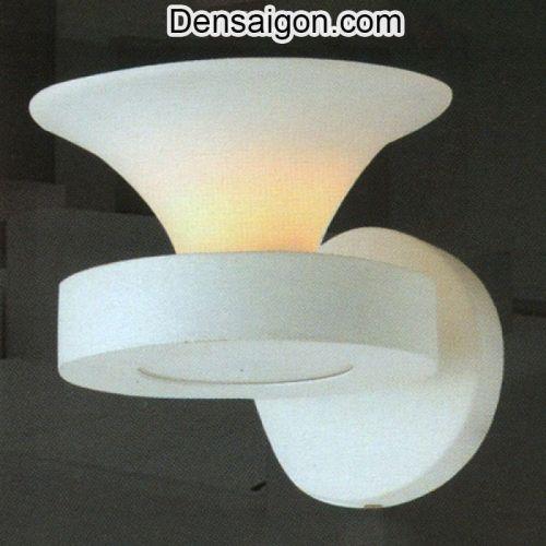 Đèn Tường Kiếng Màu Trắng - Densaigon.com