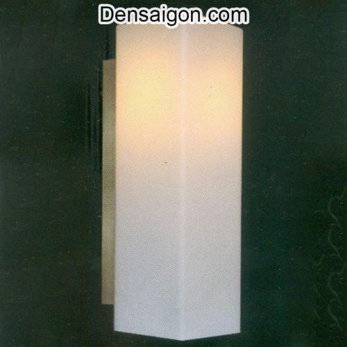 Đèn Tường Kiếng Màu Trắng Đơn Giản - Densaigon.com