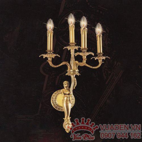 Đèn vách đồng phong cách Classic trang trí biệt thự đẹp - Densaigon.com