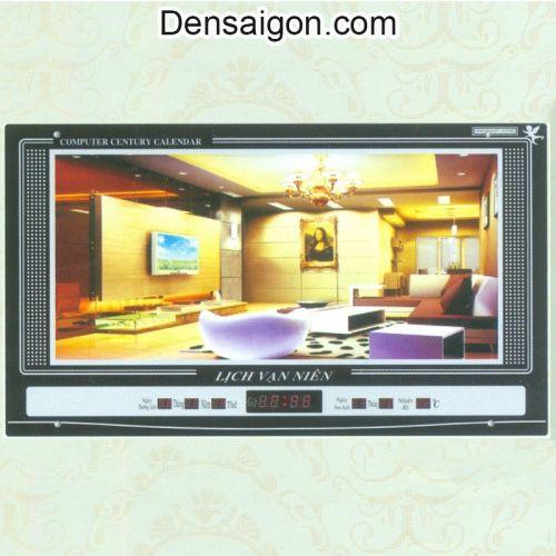 Tranh Đồng Hồ Trang Trí Phòng Khách Đẹp - Densaigon.com